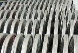 一排经轴铝盘